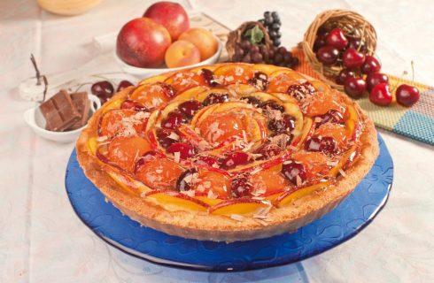 Crostata di frutta alla crema: tradizionale