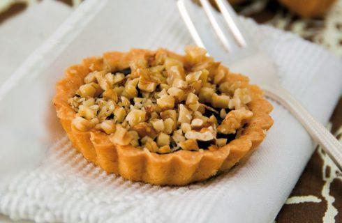 Crostata cioccolato e noci: golosa