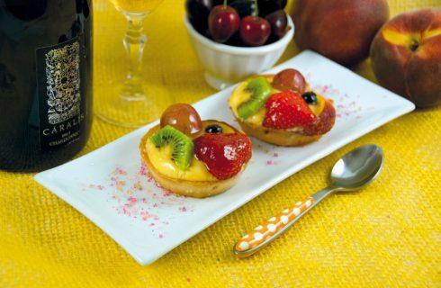 Crostata con frutta croccante: fine pasto