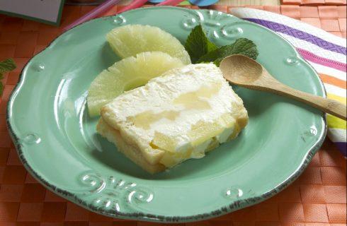 Torta fredda all'ananas: per merenda