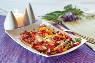Filetti di cernia marinati: per cena