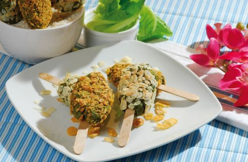 Finto gelato di verdure