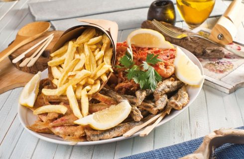 Pesce fritto & chips