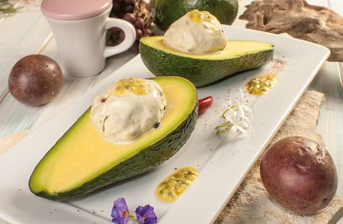 Gelato all'avocado: per merenda