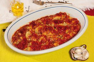 Gnocchi di polenta con fagioli e pancetta