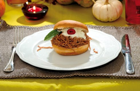 Hamburger dolci di Halloween