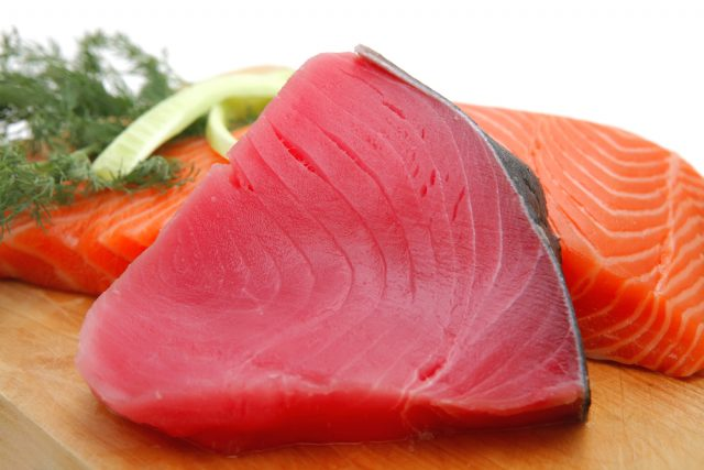 tonno e salmone