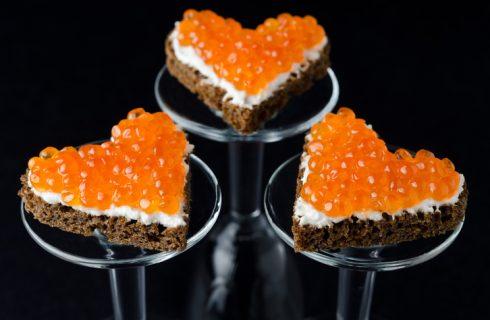 Tartine per San Valentino, la ricetta facile e veloce