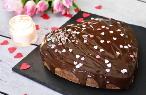 Torta con cioccolato e peperoncino per San Valentino