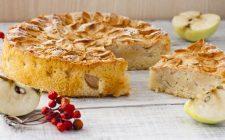 La ricetta della torta di mele con la panna