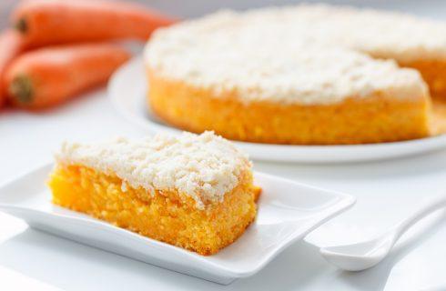 Torta light alle carote, la ricetta