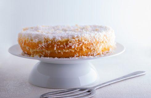 Come preparare la torta vegana al cocco