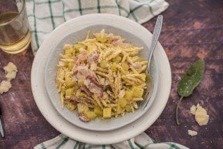 Trofie pancetta e patate: sapore d'inverno