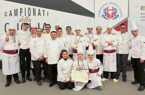 A Rimini per i Campionati della Cucina Italiana