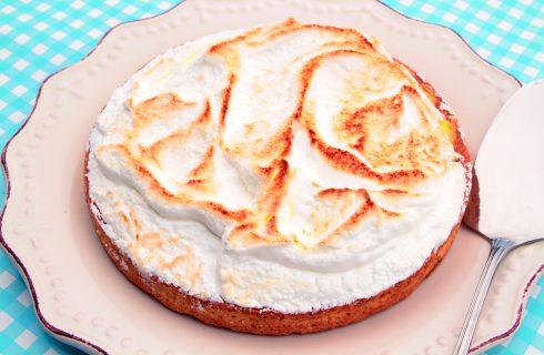 Crostata meringata con lemon curd al bimby