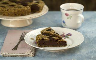 Crostata al cioccolato con frolla al caffè: gustosa variante