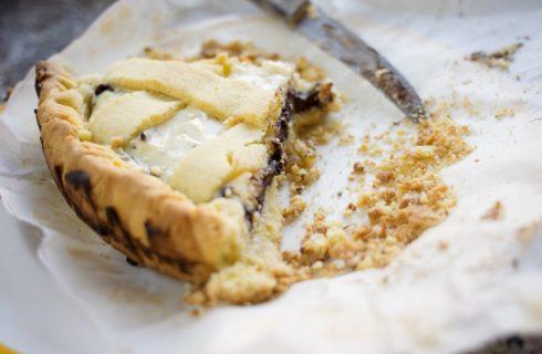 Come preparare la crostata Nutella e crema