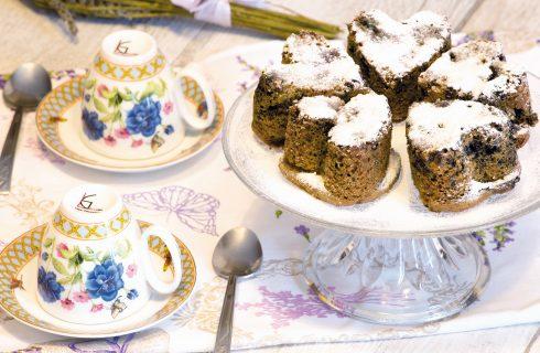 Cuori ai mirtilli: romantico dessert