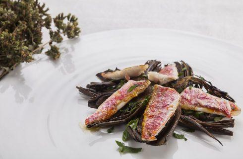 Filetti di triglia con carciofi: piatto semplice e veloce