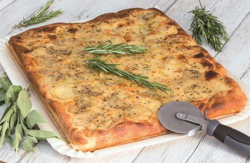 Focaccia con patate: facilissima