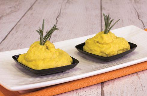 Hummus di fave con zenzero: impossibile dir di no
