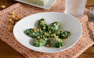 Malfatti al gorgonzola: secondo piatto vegetariano