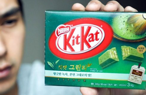Il KitKat al tè matcha arriva anche in Europa