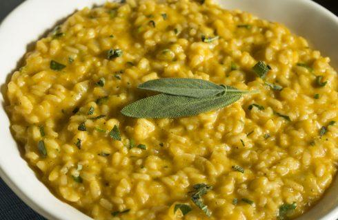 Ricette Masterchef 8: il risotto di zucca con crumble di olive nere