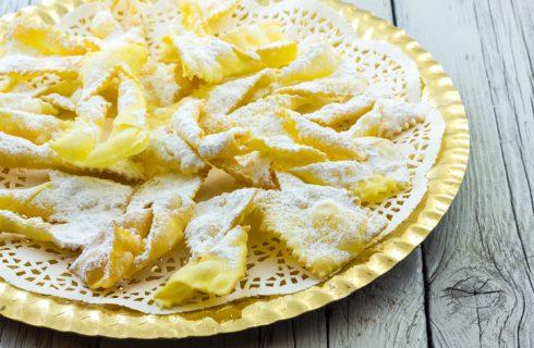 La ricetta delle sfrappole di Carnevale bolognesi