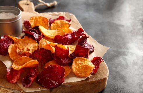 Le chips di verdura NON sono dietetiche