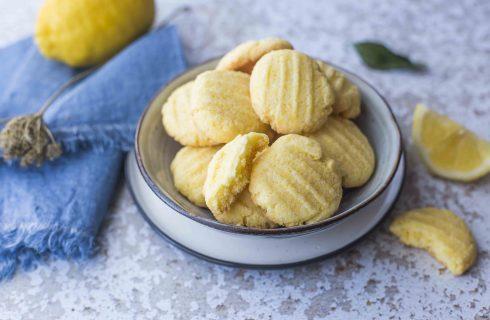Biscotti al limone senza glutine: fare il pieno di energia