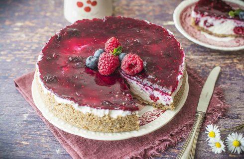 Cheesecake con frutti di bosco: un concentrato di freschezza
