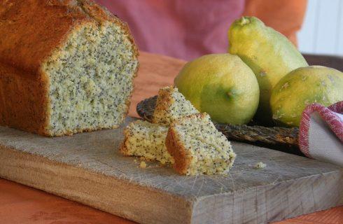 La ricetta della torta con agrumi e semi di papavero