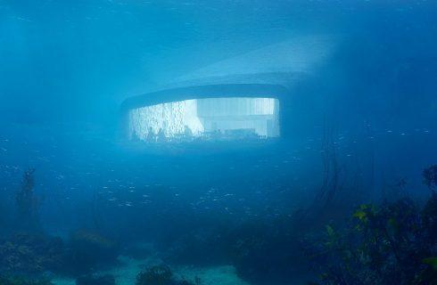Under, il primo ristorante sott'acqua europeo è in Norvegia