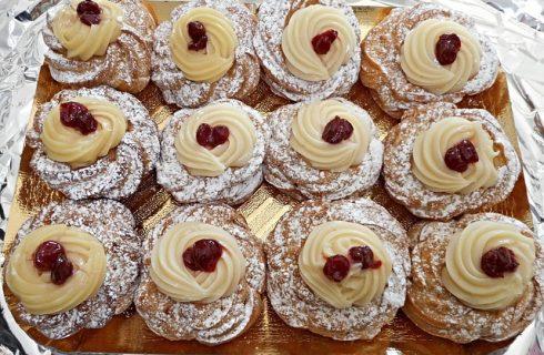 Zeppole di San Giuseppe senza glutine col Bimby