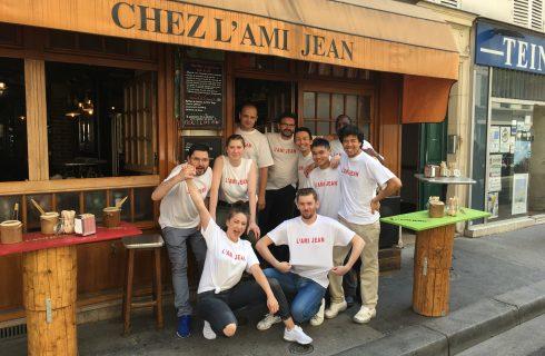 L'Ami Jean, Parigi