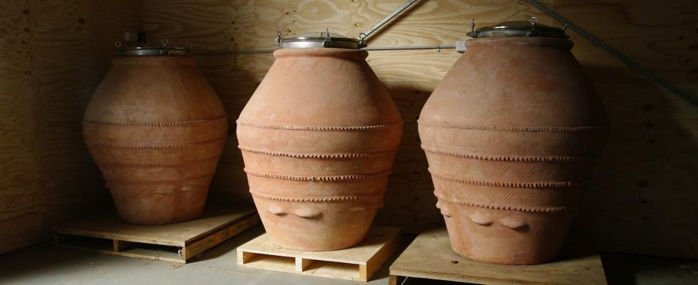 Come gli antichi: produrre il vino in anfora
