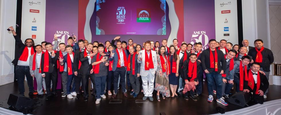 Asia's 50 Best 2019: Odette a Singapore primo e anche l'Italia vince