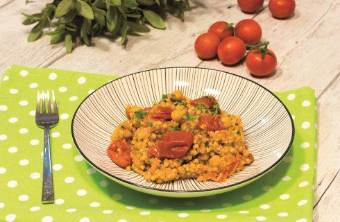 Grano saraceno mediterraneo: primo piatto vegano