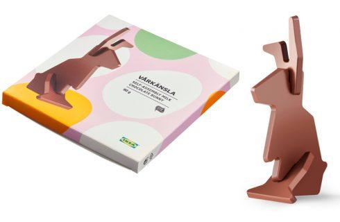 Ikea venderà coniglietti di cioccolato da montare