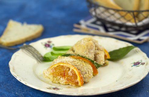 Involtini di pesce spada all'arancia: aroma inconfondibile