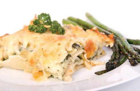 Le lasagne asparagi e burrata di Benedetta Parodi