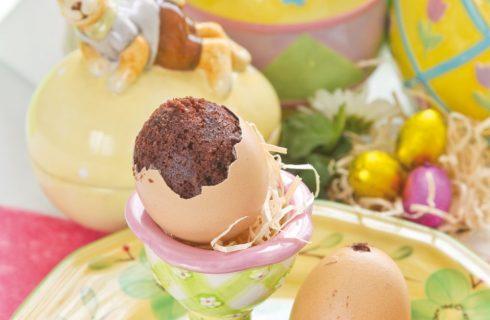 Tortina in guscio di uovo: per Pasqua
