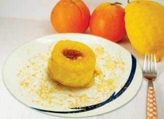 Mele al forno con marmellata di mandarini