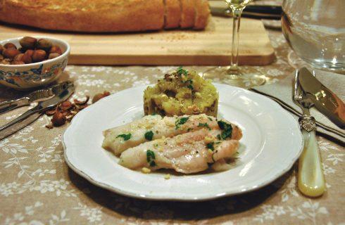 Merluzzo con olive e patate: pronto in un batter d'occhi