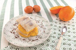 Millefoglie con crema all'arancia: dolce dall'aroma inconfondibile
