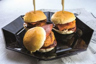 Hamburger mignon, per l'aperitivo