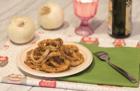Onion rings: antipasto vegano