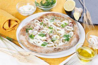 Pizza ai calamari e zenzero: accostamento vincente