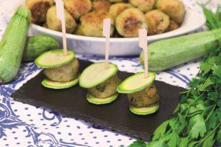Polpette di miglio e zucchine, secondo vegano
